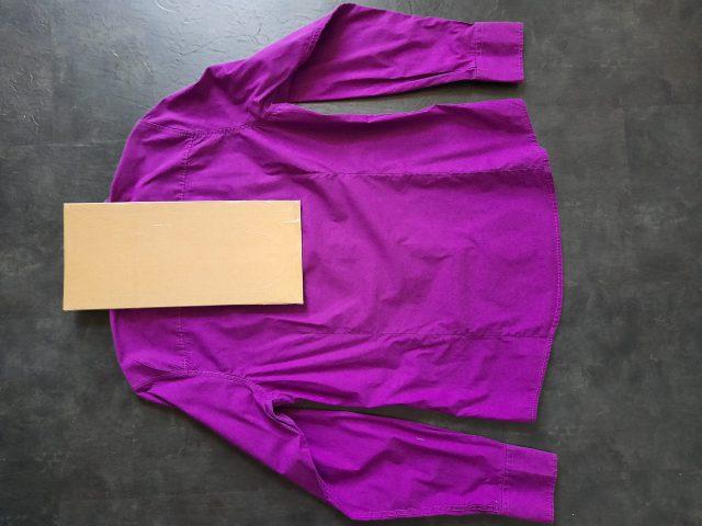 Overhemd vouwen 2