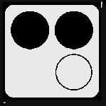Logo Van Loo Organizing (wit)